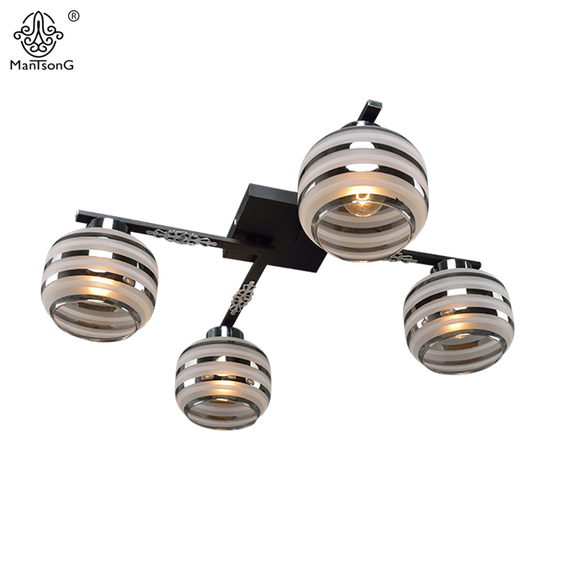 Vintage Ceiling Lamp Bedroom E14 Bulb 3/4/5 Heads Ceiling Lights Living Room Home Lighting Luminaire Iron Modern Ceiling Lamps american simple glass ceiling lights creative living room bedroom senior hotel lobby lighting 3 4 6 9 heads ceiling lamps za