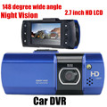 Car DVR 2.7 inch LCD wide Angle 148 degree G-Sensor Night Vision video Recorder 148 degree wide angle