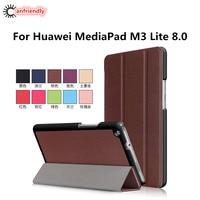 Caso Para Huawei Mediapad Lite 8.0 CPN-L09 M3 CPN-W09 CPN-AL00 8