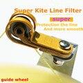 Envío de la alta calidad de super filtro de línea de la rueda guía flying kite kite juguetes al aire libre niño amor fábrica hcxkite albatros