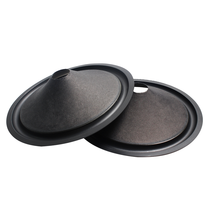 2Pcs/Lot 8 INCH Speaker Paper Cone Basin Drum Paper Rubber Edge Side 25.5 Core 195mm Woofer Speaker Accessories