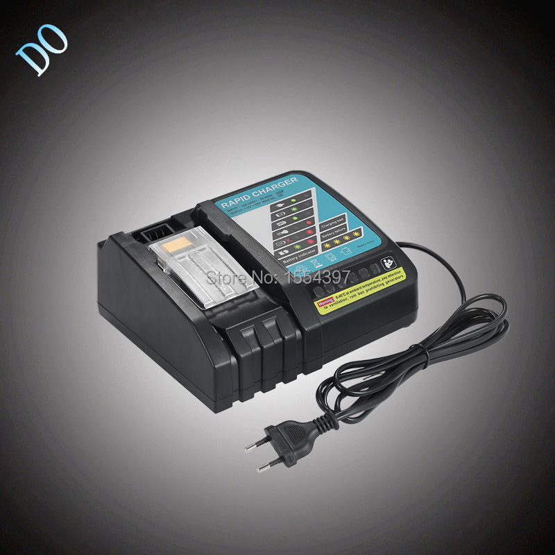 New 18V 14.4V Universal Power Tool Lithium Ion Battery Rapid Charger Replacement for Makita DC18RC DC18RA DC18SC replacement li ion battery charger power tools lithium ion battery charger for milwaukee m12 m18 electric screwdriver ac110 230v