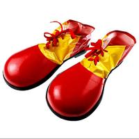 Masquerade Party Supplies Clown Clothing The Jester HALLOWEEN Cosplay Performance Wear Accessories Clown Shoes Pvc Square