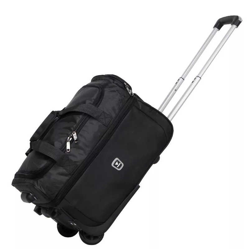 c42f2132f74c ... 21 23 27 inch Travel bag Suitcase for Women Trolley Travel Bags Spinner  Wheels Student Rolling ...