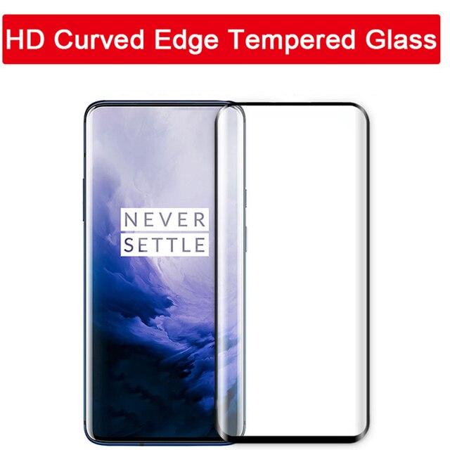 Vidrio Templado 5D para Oneplus 8 pro oneplus 8 one plus 7 pro 7 t oneplus 7 t 7pro 8pro oneplus 8pro película protectora de pantalla