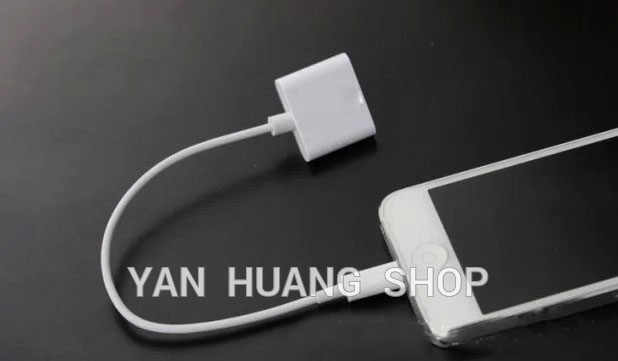 1pcs 30 Pin To 8 Pin Line Connector Dock Charger Adapter Converter Cable For iPhone 4 To for iphone 5 6 7 8 Plus ios 6 7 8 9 10