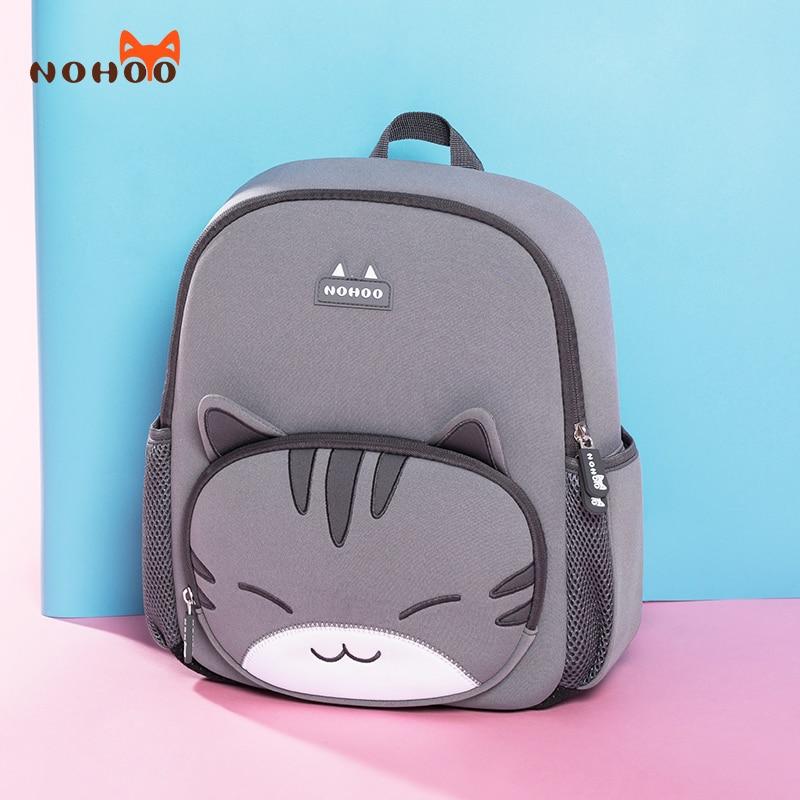NOHOO Children School Bags For Boys Girl Big Capacity Waterproof School Backpacks For Kindergarten Teenagers Kids Book Bag