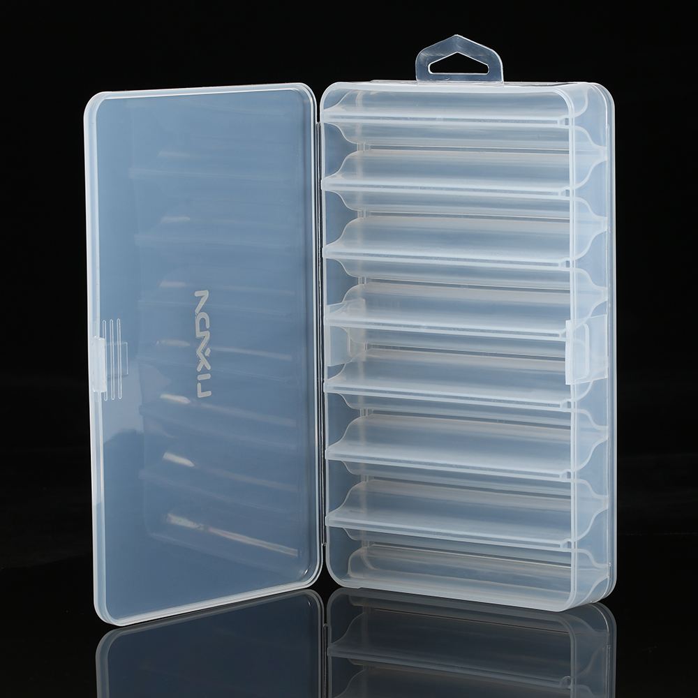 Lixada Fishing Tackle Box Bait Lure Hooks Box Bait Storage Case 5 Compartment Fishing Tool Tackle Sorting Box for Pesca(China)