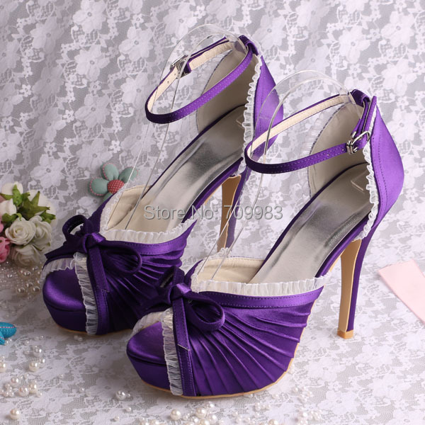 (15 Colors)Custom Fashionable High Heel Platform Sandals Wedding Bridal  Cream Color Satin Free Shipping-in Women s Sandals from Shoes on  Aliexpress.com ... 10a85e240530