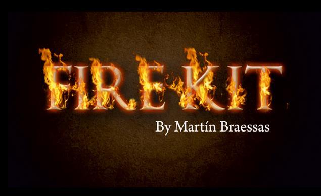 Feu Kit par Martin B (Gimmick + En Ligne instruire)-tour de Magie, Close Up, Stade, rue Magia, Illusion, Mentalisme, Super effet