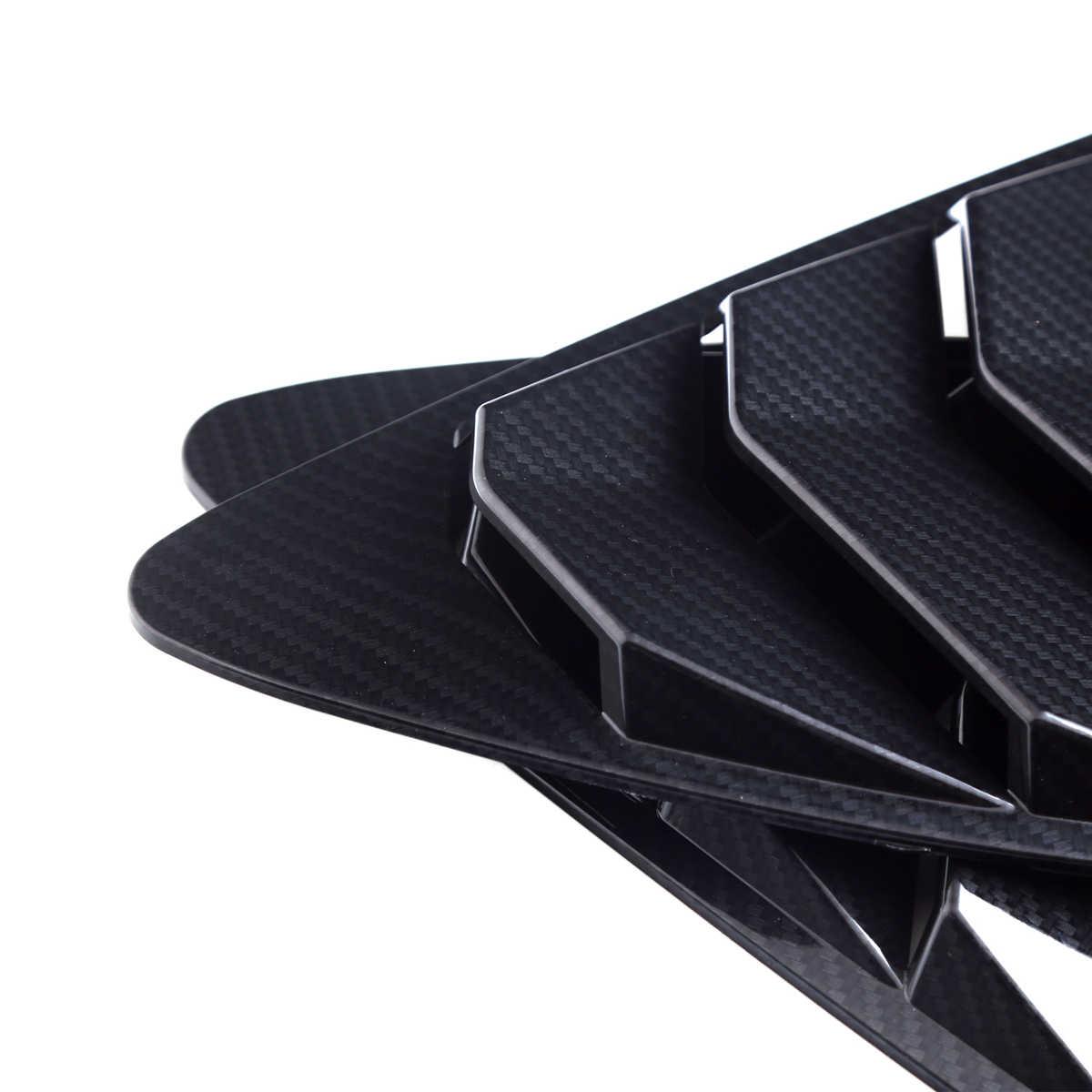1 пара ABS пластмассовый задний жалюзи четверть боковая оконная панель боковые оконные жалюзи колпак воздухозаборника для Scion FRS для Subaru BRZ 2013-2018