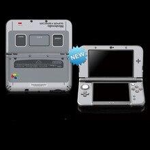 ויניל כיסוי מדבקת עור עבור מוגבלת מכונת חדש 3DS XL עורות מדבקות עבור SFC חדש 3DS LL ויניל עור מדבקת מגן