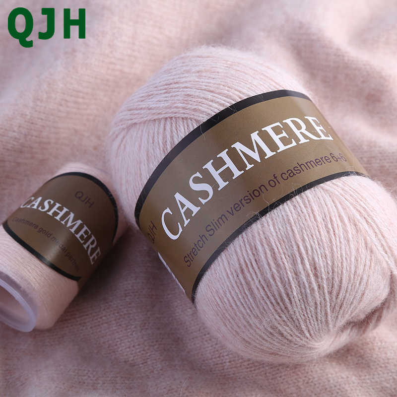 Melhor qualidade 100% mongol caxemira mão-malha caxemira fio de lã cashmere tricô fio bola cachecol lã yarny bebê 50 gramas