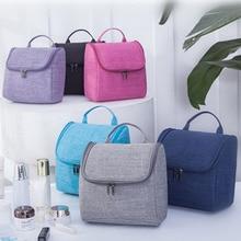 Large Wash Toiletry Bag Organizer Cosmetic Bag For Women Travel Waterproof Nylon Men Hanging Makeup Bag Container Case недорого