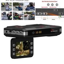 Best Rusian Voice Radar Detector dvr camera  Anti Car dvr Radar Detector Car dvr recorder HD 720P GPS Logger Video Recorder