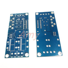 5pcs/lot Dual channel TDA7377 12V (PCB empty board) AC and DC power supply power amplifier