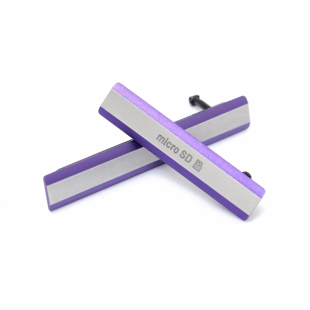 Micro SD SIM Card USB Slot Port Cover Plug Replacement dust-proof for Sony Xperia Z2 D6502 D6503