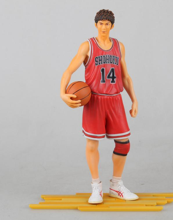 ФОТО 2017 Slam Dunk Mitsui action Figures Japanese Anime Figure 24cm Hot Toys Pvc Cartoon Figure Kid Gift Brinquedo Free Shipping