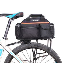 Cycling Bag 14L Bike Tail Rear Bag Bicycle Saddle Cycling Bicicleta Basket Rack Trunk Shoulder Bag