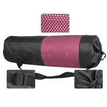 Рюкзак для йоги, чехол, водонепроницаемая сумка для йоги, пилатеса, водонепроницаемая сумка для йоги, сумка для спортзала, переноска для 6-10 мм коврика(коврик для йоги не входит в комплект