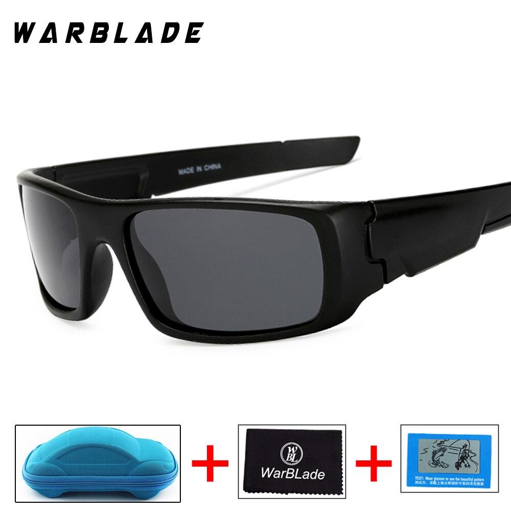 2018 New Polarized Sunglasses Men Brand Designer Sun Glasses For Male Safety Goggles Fishing UV400 Gafa Oculos de sol with box