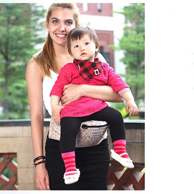 Multifuncional qualidade bebê algodão orgânico infantil mochilas estilingue suspensórios bebê clássico portador de bebê segurar fezes