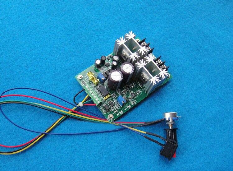 Régulateur de vitesse avant et arrière PMW haute puissance démarrage en douceur H sans DC12V-60V de Contact mécanique