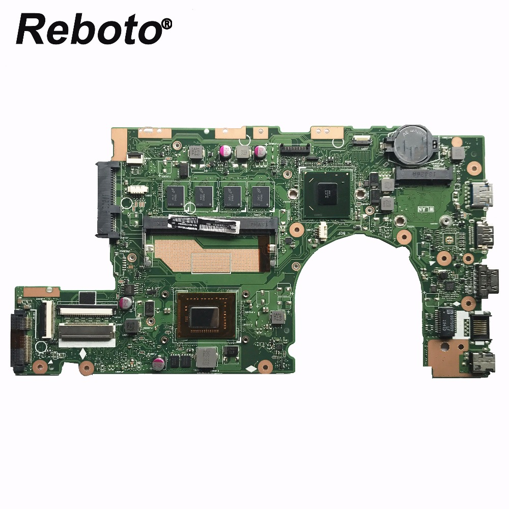 Reboto For ASUS S400CA Laptop motherboard S400CA MZIN BOARD REV 3 1 With SR08N i5 3317u