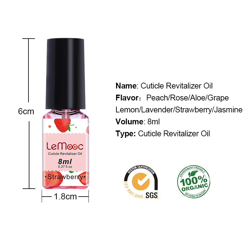 LEMOOC Nail Cuticle Oil Transparent Flower Flavor Smoothing Bared Soften Dead Skin Nail Art Moisturizing Finger Nail Care Tools in Nail Polish from Beauty Health