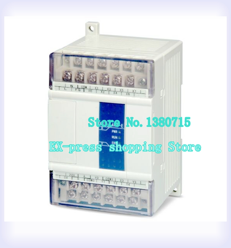 New XC3-14RT-E PLC CPU AC220V 8 DI NPN 6 DO Relay&Transistors цена