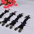 Черный женщин Лук Harajuku Готический тело жгут подвязки свадебные подвязки свадебные связывание жгут подвязки
