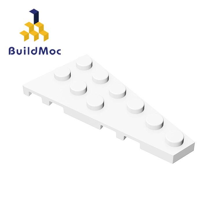 BuildMOC Compatible Assembles Particles 54383 3x6(Left) For Building Blocks Parts DIY Educational Gift Toys