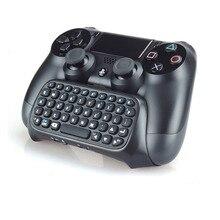 Für Sony PS4 PlayStation 4 Zubehör Controller Mini Bluetooth Drahtlose Tastatur