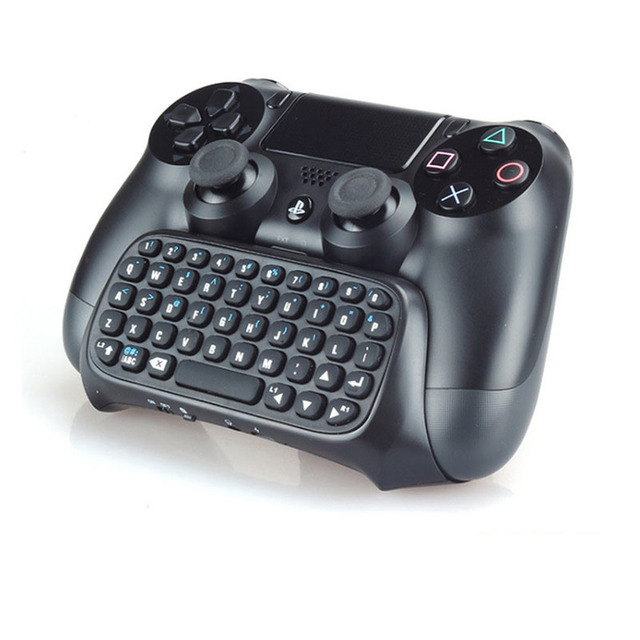 For Sony PS4 PlayStation 4 Accessory Controller Mini Bluetooth Wireless Keyboard