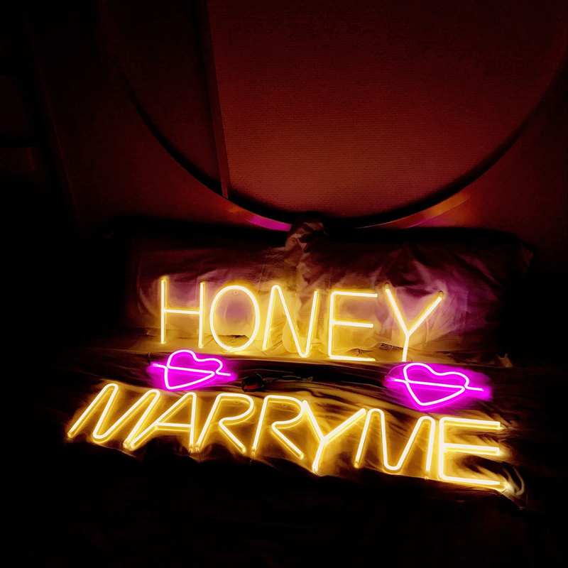 US $11 68 30% OFF DIY Letters Numerals Led Neon Sign Light 3 Color Holiday  Xmas Party Wedding Decorations Night Lamp Bar Home Wall Decor Fashion-in