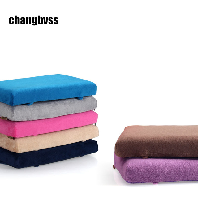 Memory Foam Chair Cushion Pad For Student 34x24x4cm Kids Seat Cushions Rubber