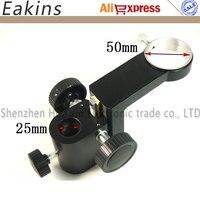 Industrial Monocular Microscope Camera stand 50mm Dia microscope Lifting bracket