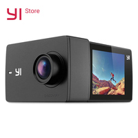 YI Discovery Action Camera Sports Cam 2.0 LCD Touchscreen WIFI 4K/20fps 8MP 150 Degree Wide angle APP Support International Ver