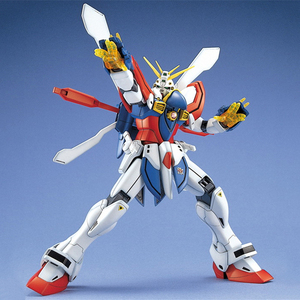 Image 4 - نموذج بانداي المقاتلة المتنقلة G Gundam MG 1/100 God Gundam ملك القلب GF13 017NJ آثار تعديل نموذج الحركة