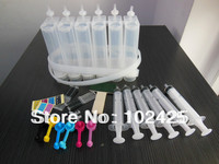 6 Color Diy CISS Kits For Epson HP Canon Brother Printers 100ml Each Color Free Shipping