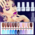 NO.49-72 5ML MINI PACK  2016 Brand New Gelpolish Soak Off UV Gel Polish BASE TOP COAT Primer  Nail Art Color Foundation D10