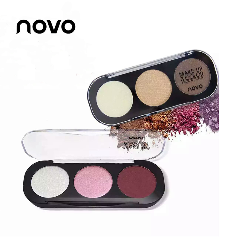 Search For Flights Wodwod Makeup Brand Baby Smooth 3 Color Matte Eye Shadow Palette Shimmer Eyeshadow Glitter Eyebrow Powder Natural Long-lasting Sturdy Construction Eye Shadow