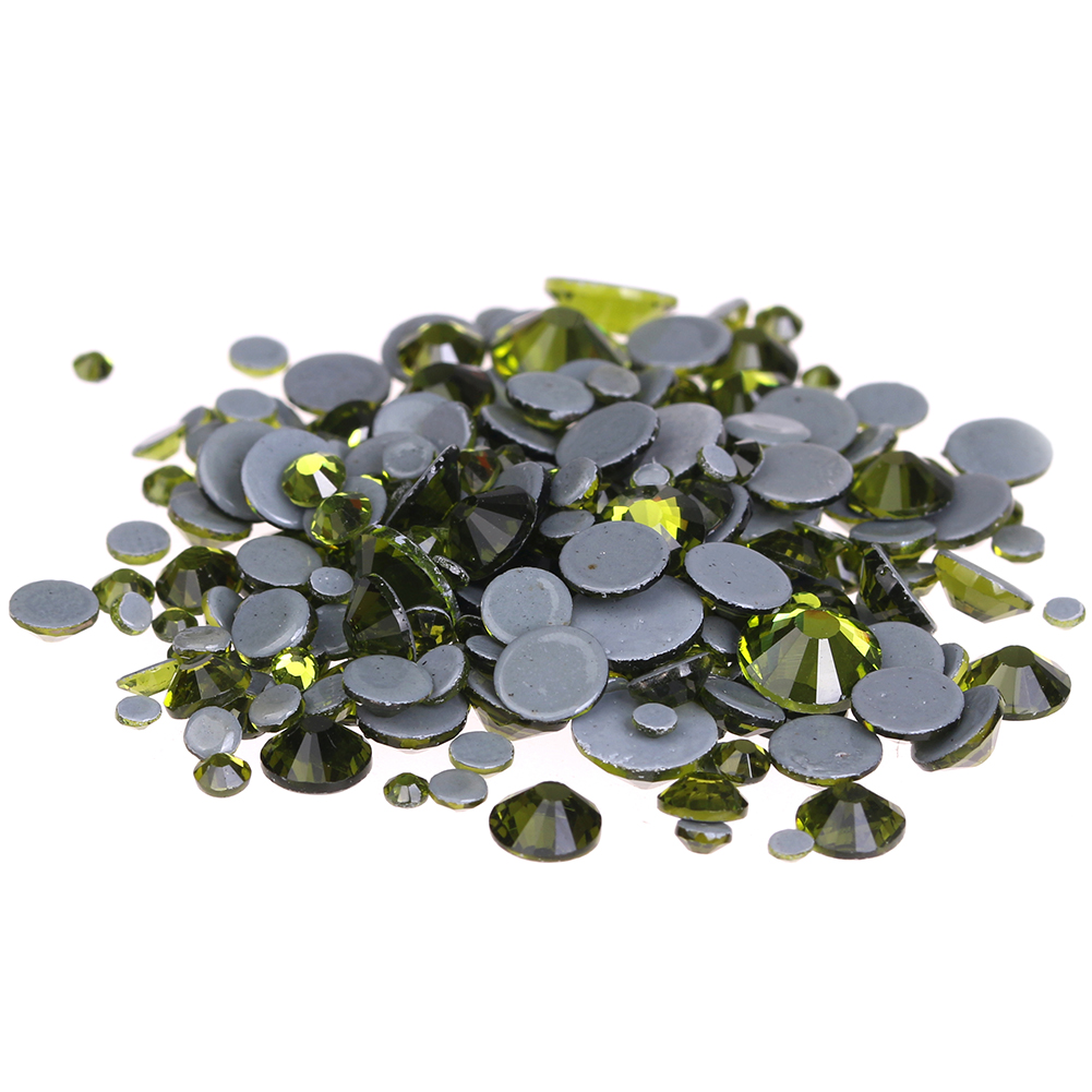 Olive Hotfix Crystal Rhinestones ss6-ss30 And Mixed Glue Backing Iron On Glass Stones Applique For Garments Phone DIY Decoration rakesh kumar tiwari and rajendra prasad ojha conformation and stability of mixed dna triplex