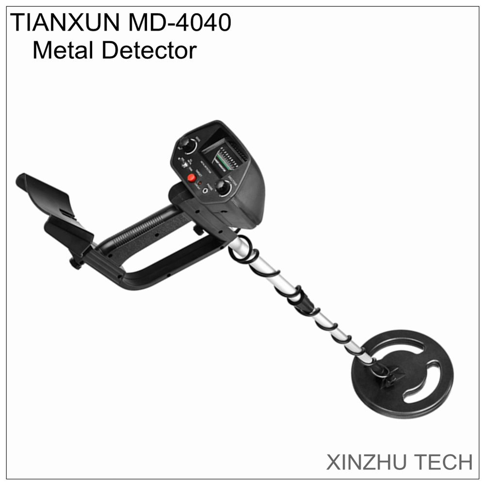 TIANXUN MD 4040 Metal Detector underground gold detector MD 4030 update treasure hunter