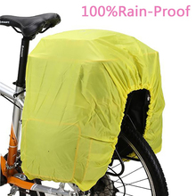 Bicycle Pannier Rainproof Raincoat Cover Raincoat Proof D 'Water Cloth For 40L-65L Cycling Pannier Bicycle Bag Free Shipping A20