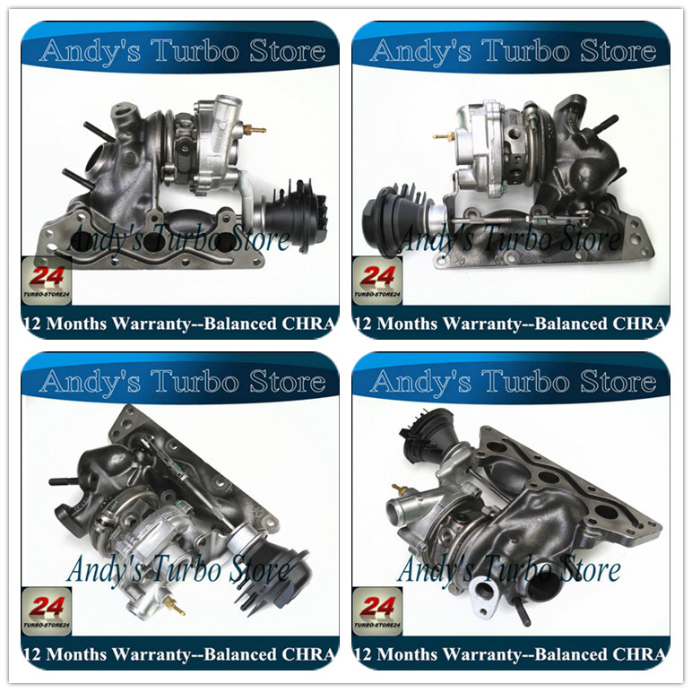 Complete turbo 727211 GT1238S Turbolader 727211 for smart A1600960999 012473V001000000 Turbocharger for Smart Fortwo 0.761 Hp