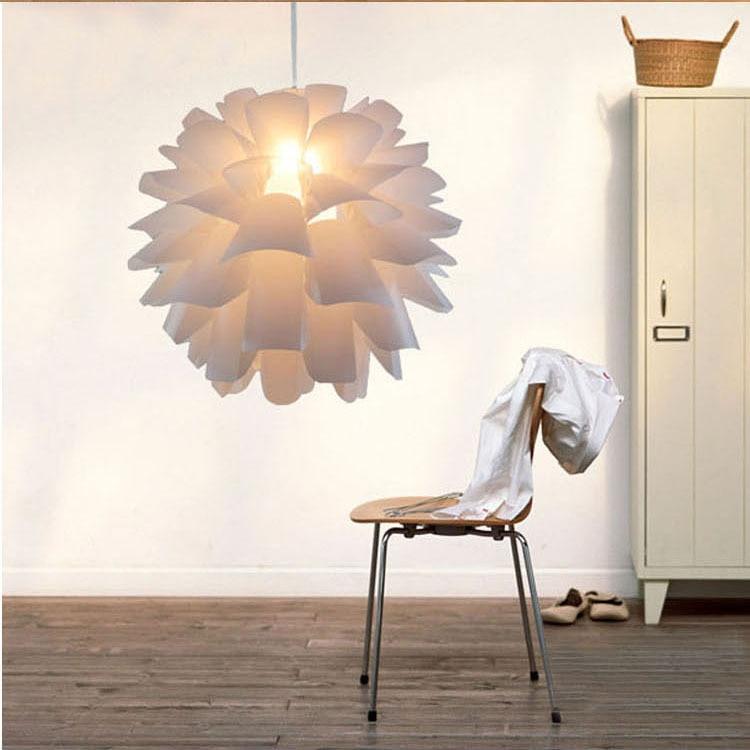 FREE SHIPPING DIY IQ Puzzle Creative Led E27 Pendant Lamp