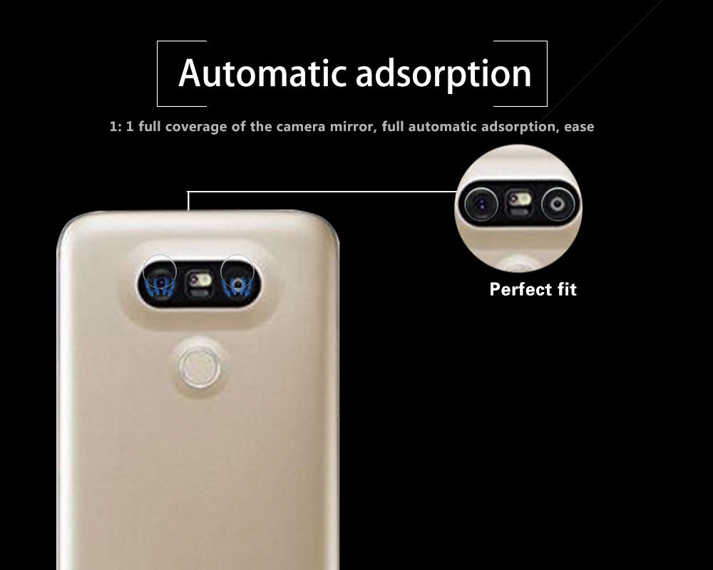 Ultra-thin Back Camera Lens Tempered Glass Film For LG G5 SE H848 Rear Camera Lens Protective Film Glass With Cleaning Tools