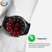 GFT KW88 3G wifi smart watch sim android 5.1 system Bluetooth Smartwatch mit brower wetter Schrittzähler für Android IOS Telefon