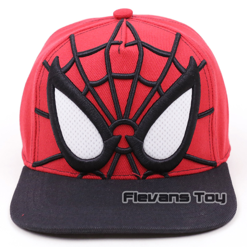 Spider Man Homecoming Summer New Fashion Brand Baseball Cap Men Boy Spiderman Hip Hop Snapback Caps